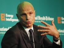 CEO of Gunvor Group, Torbjorn Tornqvist speaks during the Oil & Money conference in London October 1, 2013. REUTERS/Luke MacGregor
