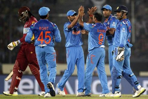 India beat West Indies in World T20