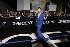 """Актриса Эшли Джадд на премьере фильма """"Дивергент"""" в Лос-Анджелесе 18 марта 2014 года. Антиутопия """"Дивергент"""" доминировала в прокате США и Канады в минувшие выходные, собрав за уикенд $56 миллионов, что позволило ей обойти вторую часть """"Маппетов"""", отставшую на $40 миллионов. REUTERS/Mario Anzuoni"""