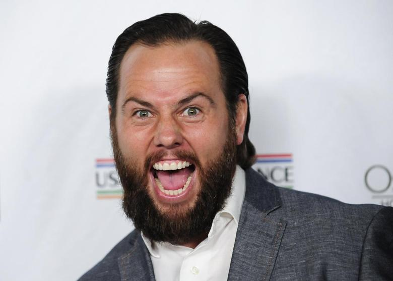 Founder of Maker Studios Shay Carl arrives at the U.S.-Ireland Alliance pre-Academy Awards event in Santa Monica, California February 27, 2014. REUTERS/Gus Ruelas