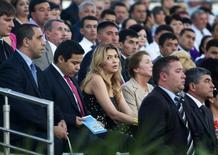 Гульнара Каримова, дочь президента Узбекистана, на праздновании Дня независимости в Ташкенте 31 августа 2012 года. Прокуратора Швеции расследует подозрения в том, что дочь президента Узбекистана брала взятки доступ на местный 30-миллионный рынок скандинавской телекоммуникационной компании TeliaSonera, сообщили прокуроры. REUTERS/Shamil Zhumatov