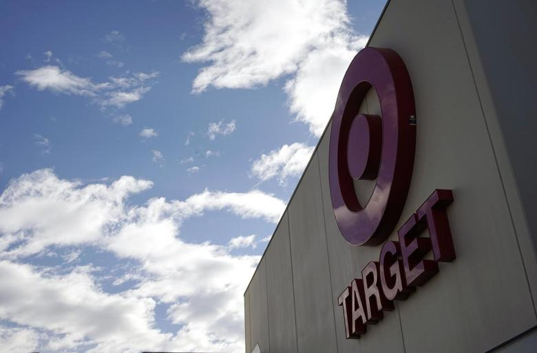 The sign outside a Target store is seen in Arvada, Colorado February 14, 2014. REUTERS/Rick Wilking