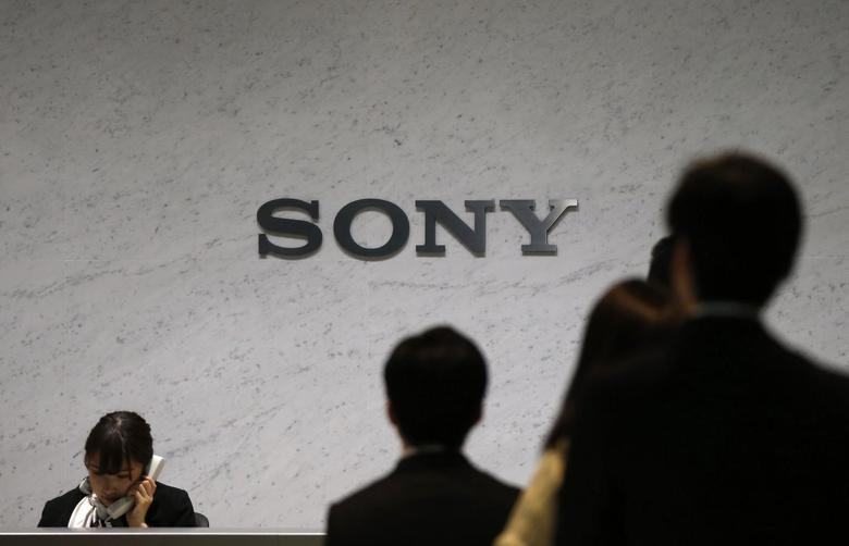 Sony Corp's logo is seen at the headquarters in Tokyo February 6, 2014. REUTERS/Toru Hanai
