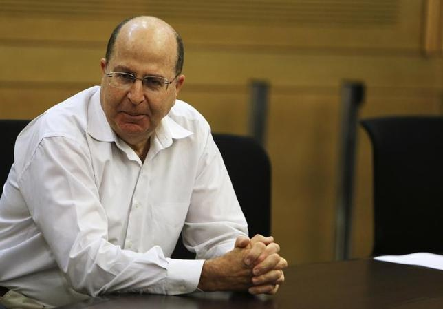 Moshe Yaalon attends a Likud-Beiteinu party meeting at the Knesset, the Israeli parliament, in Jerusalem March 14, 2013. REUTERS/Nir Elias