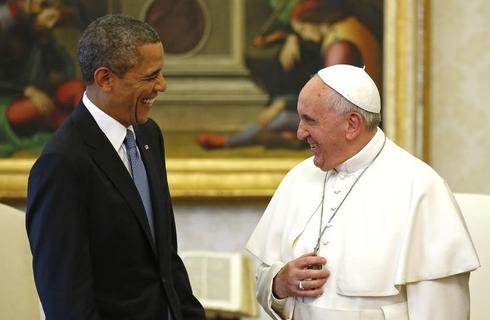 The President and the Pope