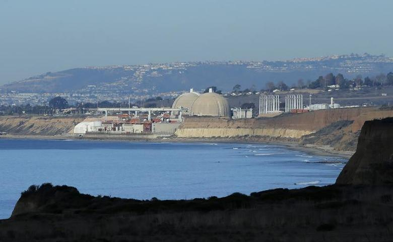 The San Onofre Nuclear Generating Station is shown along the Pacific Ocean in California December 10, 2013. REUTERS/Mike Blake