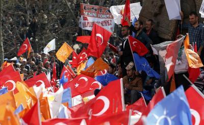 Turkish security breach exposes Erdogan in power...