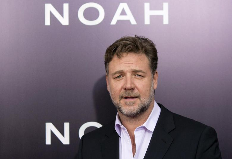 Cast member Russell Crowe attends the U.S. premiere of ''Noah'' in New York March 26, 2014. REUTERS/Andrew Kelly