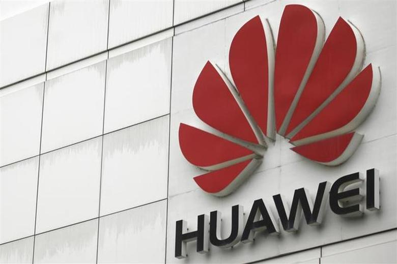 The logo of the Huawei Technologies Co. Ltd. is seen outside its headquarters in Shenzhen, Guangdong province, April 17, 2012. REUTERS/Tyrone Siu/Files