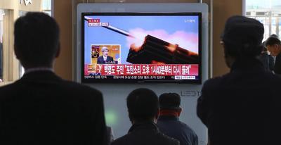 North, South Korea trade artillery rounds into the...