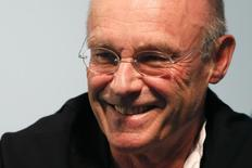 German artist Anselm Kiefer attends a news conference to present his exhibition 'Morgenthau Plan' at the Gagosian Gallery in Le Bourget near Paris October 15, 2012. REUTERS/Charles Platiau