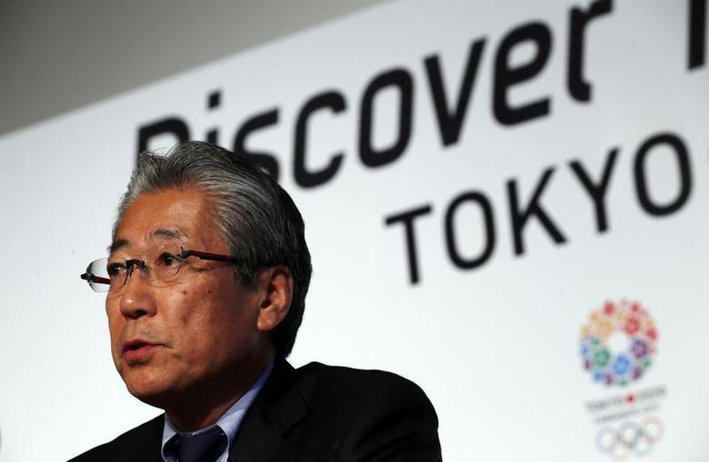Japan Olympic Committee President Tsunekazu Takeda speaks during a news conference in support of the Tokyo 2020 summer Olympics candidacy in Buenos Aires September 4, 2013. REUTERS/Marcos Brindicci