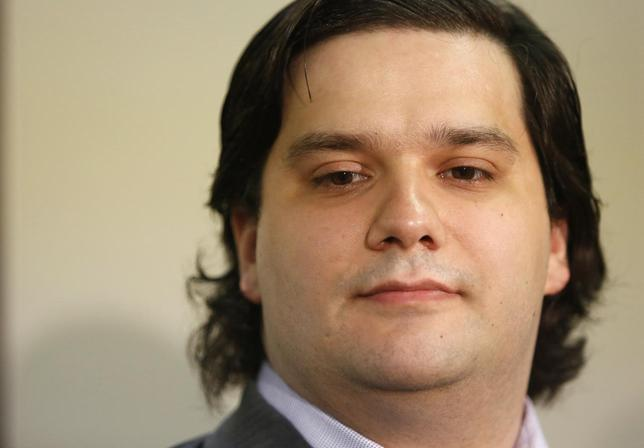Mark Karpeles, chief executive of Mt. Gox, attends a news conference at the Tokyo District Court in Tokyo February 28, 2014. REUTERS/Yuya Shino