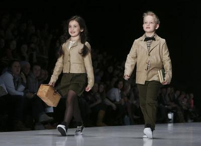 Catwalk kids