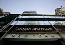 The Lehman Brothers headquarters in New York is seen September 10, 2008. REUTERS/Brendan McDermid