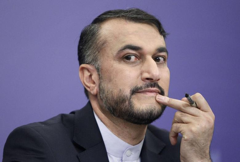 Iran's Deputy Minister for Arab and Foreign Affairs Hossein Amir Abdollahian attends a news conference in Moscow, September 10, 2013. REUTERS/Maxim Shemetov