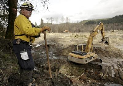 Flooding may slow search at Washington mudslide site;...
