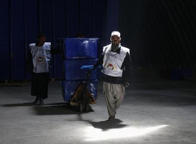 Risks of violence and fraud haunt landmark Afghan...