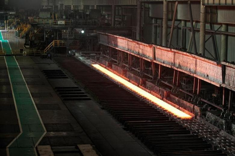 A general view of a factory of Baosteel Group Corp.,China's biggest steel maker, in Shanghai July 6, 2010. REUTERS/Aly Song