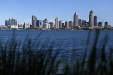 The city skyline of San Diego, California, is shown from the island of Coronado, California April 3, 2014. REUTERS/Mike Blake
