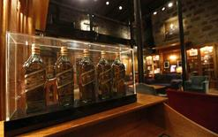 The museum room is seen at the Diageo Cardhu distillery in Scotland March 21, 2014. REUTERS/Russell Cheyne
