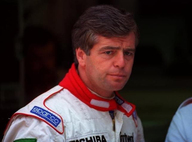 Formula One racing driver Derek Warwick during the Monaco Grand Prix May 23 - RTXF162
