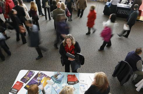 U.S. jobs market shakes off winter's icy grip