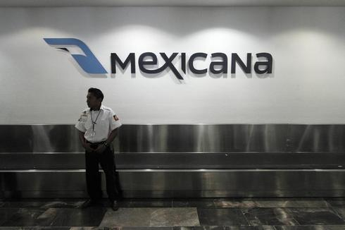 Mexico flagship airline Mexicana declared bankrupt
