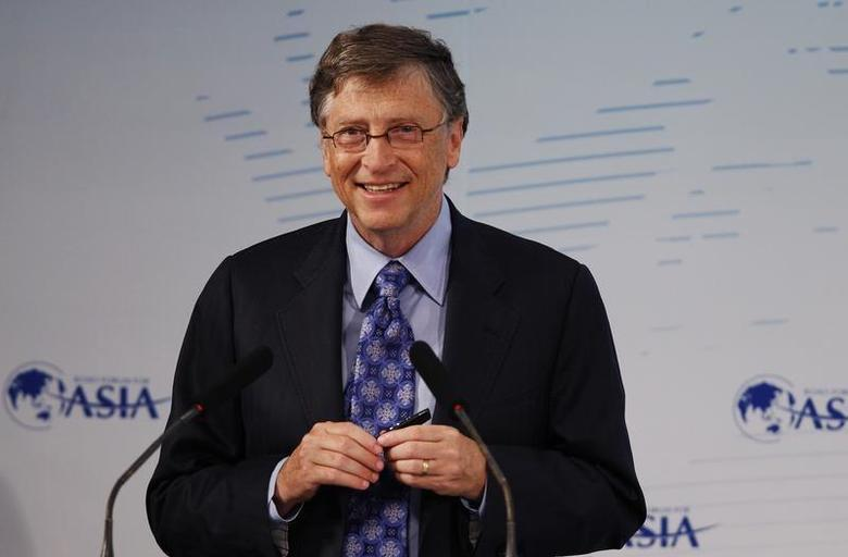 Microsoft founder Bill Gates attends a session at the Boao Forum for Asia (BFA) annual conference in Boao town, Hainan province April 6, 2013. REUTERS/Tyrone Siu