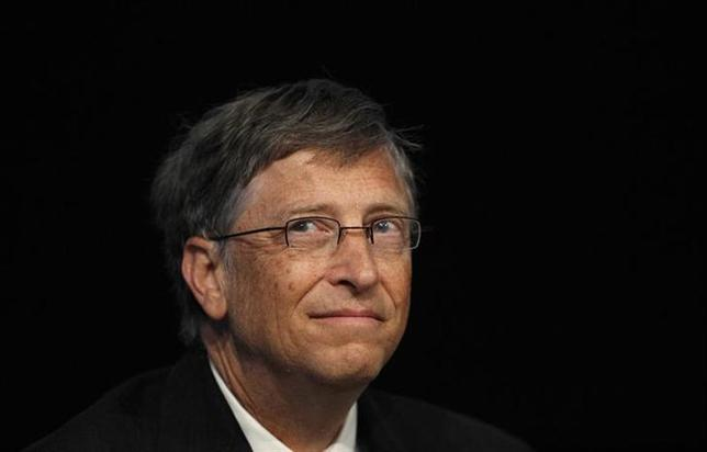 Microsoft founder and philanthropist Bill Gates is seen in this file photo taken at the ''Uniting to Combat Neglected Tropical Diseases'' conference at the Royal College of Physicians in London January 30, 2012. REUTERS/Suzanne Plunkett/Files