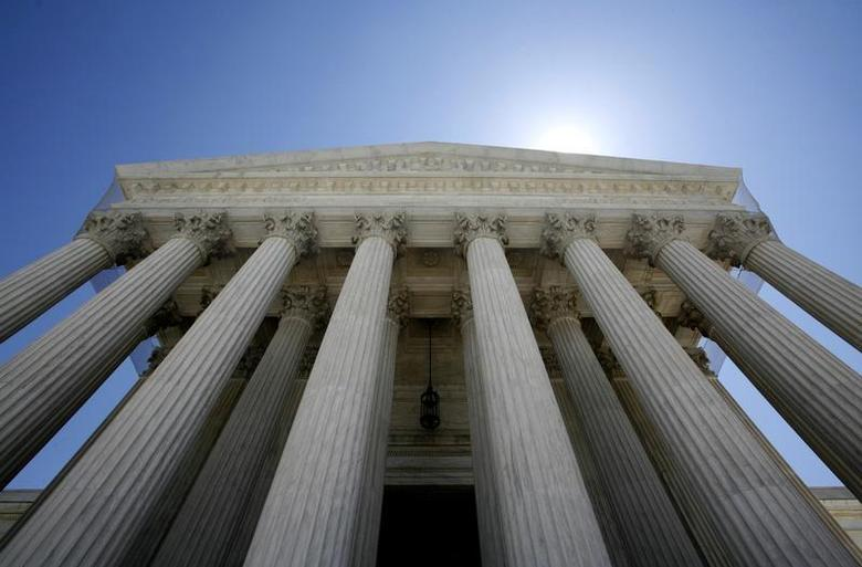 The U.S. Supreme Court building seen in Washington May 20, 2009. REUTERS/Molly Riley