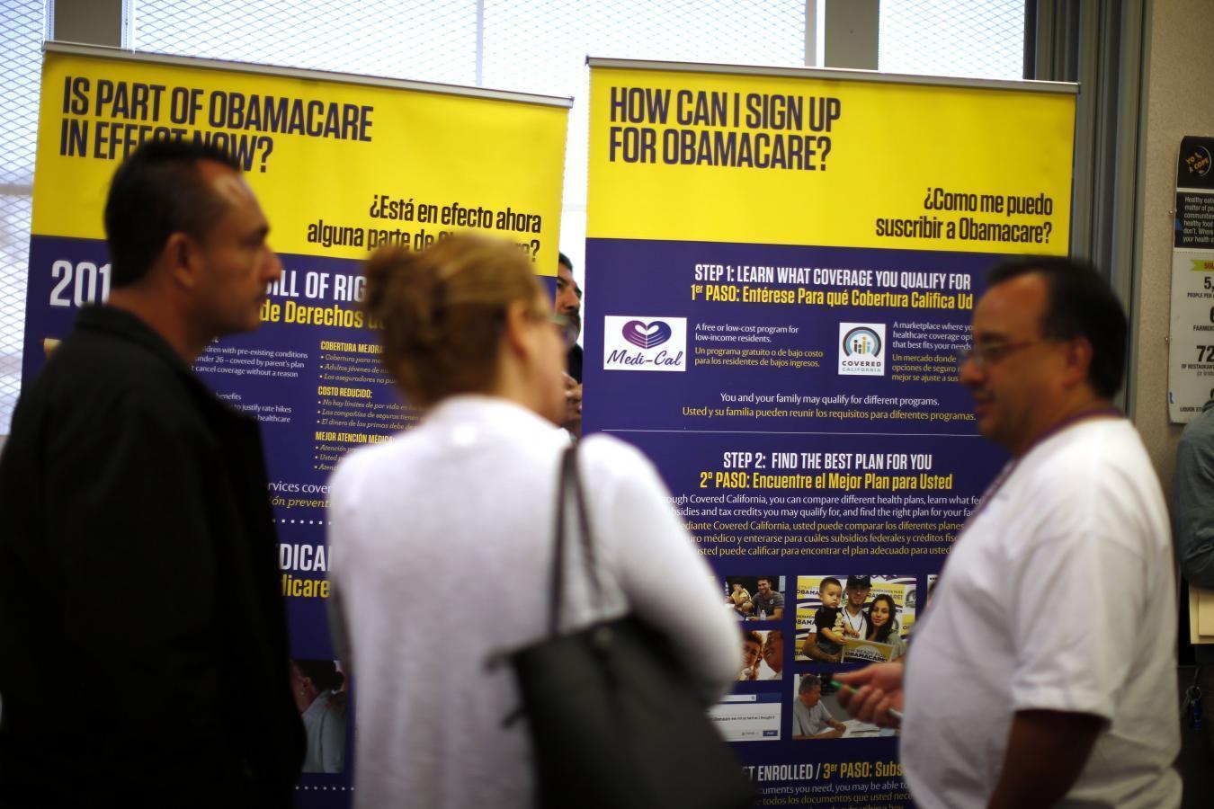 Obamacare 'accomplishing goal': Gallup poll