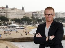 "British three Michelin-starred chef Heston Blumenthal attends a photocall to launch his new show ""How to Cook Like Heston"" as part of the MIPTV, the International Television Programs Market, event in Cannes in this April 2, 2012 file photo. REUTERS/Eric Gaillard/Files"