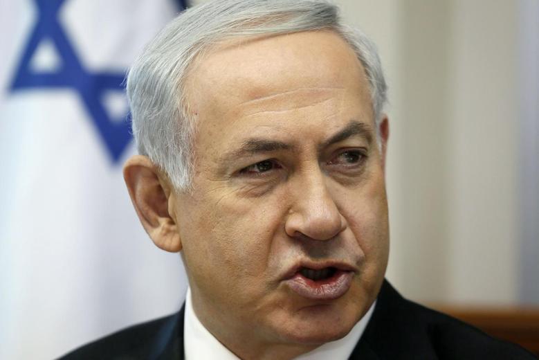 Israel's Prime Minister Benjamin Netanyahu speaks during the weekly cabinet meeting in Jerusalem April 6, 2014. REUTERS/Gali Tibbon/Pool