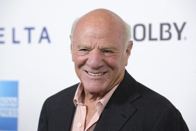 Media tycoon Barry Diller attends the performance of the one-man-show ''One Night Only'' benefiting the Motion Picture and Television Fund in Los Angeles October 12, 2013. REUTERS/Phil McCarten