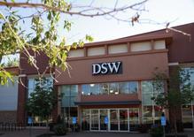 The storefront of footwear retailer DSW is seen in Broomfield, Colorado August 27, 2013. REUTERS/Rick Wilking
