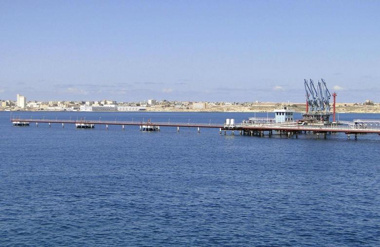 A general view of Libya's Hariga port, 1300 km (808 miles) east of Tripoli February 27, 2014. REUTERS/Stringer