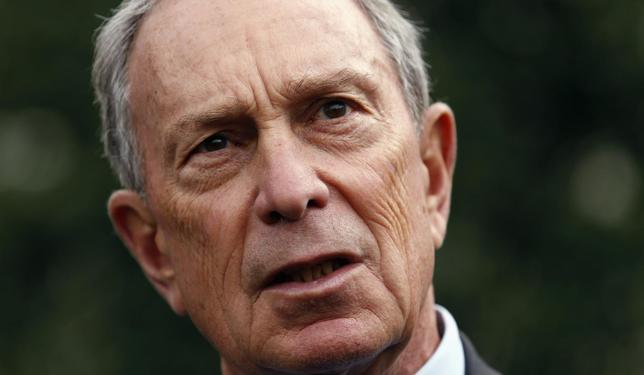 New York Mayor Michael Bloomberg speaks to reporters after his meeting with U.S. Vice President Joe Biden at the White House in Washington in this file photo taken February 27, 2013. REUTERS/Kevin Lamarque/Files