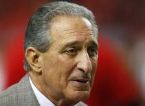 Atlanta Falcons owner Arthur Blank in the NFL NFC Championship football game in Atlanta, Georgia January 20, 2013. REUTERS/Jeff Haynes