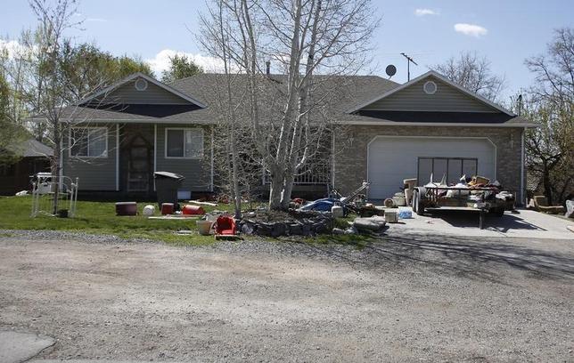 The former home of Megan Huntsman in Pleasant Grove, Utah April 14, 2014. REUTERS/Jim Urquhart