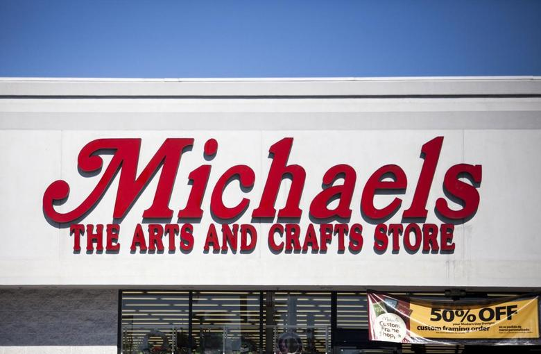 A Michaels arts and crafts store is seen in the Loma Portal area of San Diego, California January 27, 2014. REUTERS/Sam Hodgson