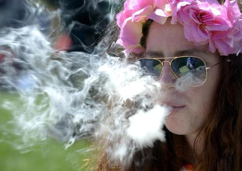 Celebration of marijuana