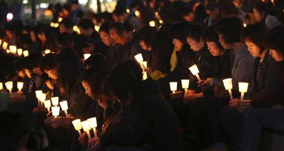 South Korea's Park says conduct of ferry crew tantamou...