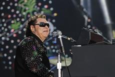 American country music singer Ronnie Milsap performs during the Country Music Association (CMA) Music Festival in Nashville, Tennessee June 8, 2012. REUTERS/Harrison McClary