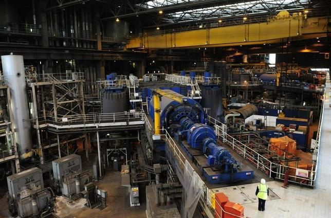 A generator is seen inside drax power station in drax for Design home resources generator