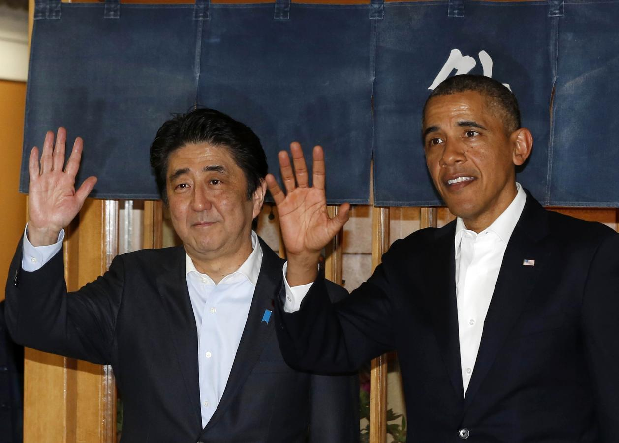 Obama seeks to ease Asian allies' doubts during visit to Japan