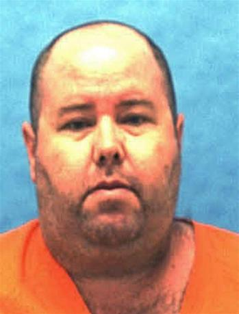Death row inmate Robert Eugene Hendrix, 47, is seen in an undated photo from the Florida Department of Corrections. REUTERS/Florida Department of Corrections/Handout