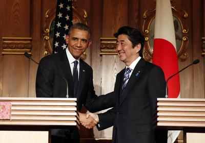 Obama reaffirms commitment to Japan on tour of Asia...