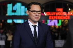 "Director of the movie Bryan Singer poses at the premiere of ""Jack the Giant Slayer"" in Hollywood, California February 26, 2013. REUTERS/Mario Anzuoni"
