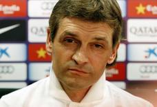 O ex-técnico do Barcelona, Tito Vilanova, durante entrevista em 2013, em cidade próxima a Barcelona. Tito faleceu nesta sexta-feira aos 45 anos de idade, segundo informou o time catalão em sua conta no Twitter. 16/07/2013 REUTERS/Gustau Nacarino
